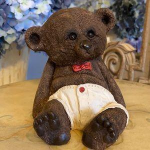 Vintage Sitting Baby Bear.